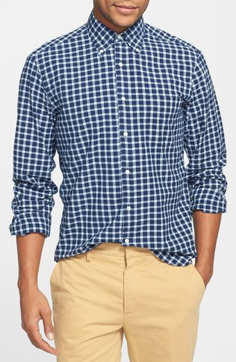 Gant Rugger Madras Check Shirt - Lyst