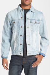 Insight Back Patch Denim Jacket - Lyst
