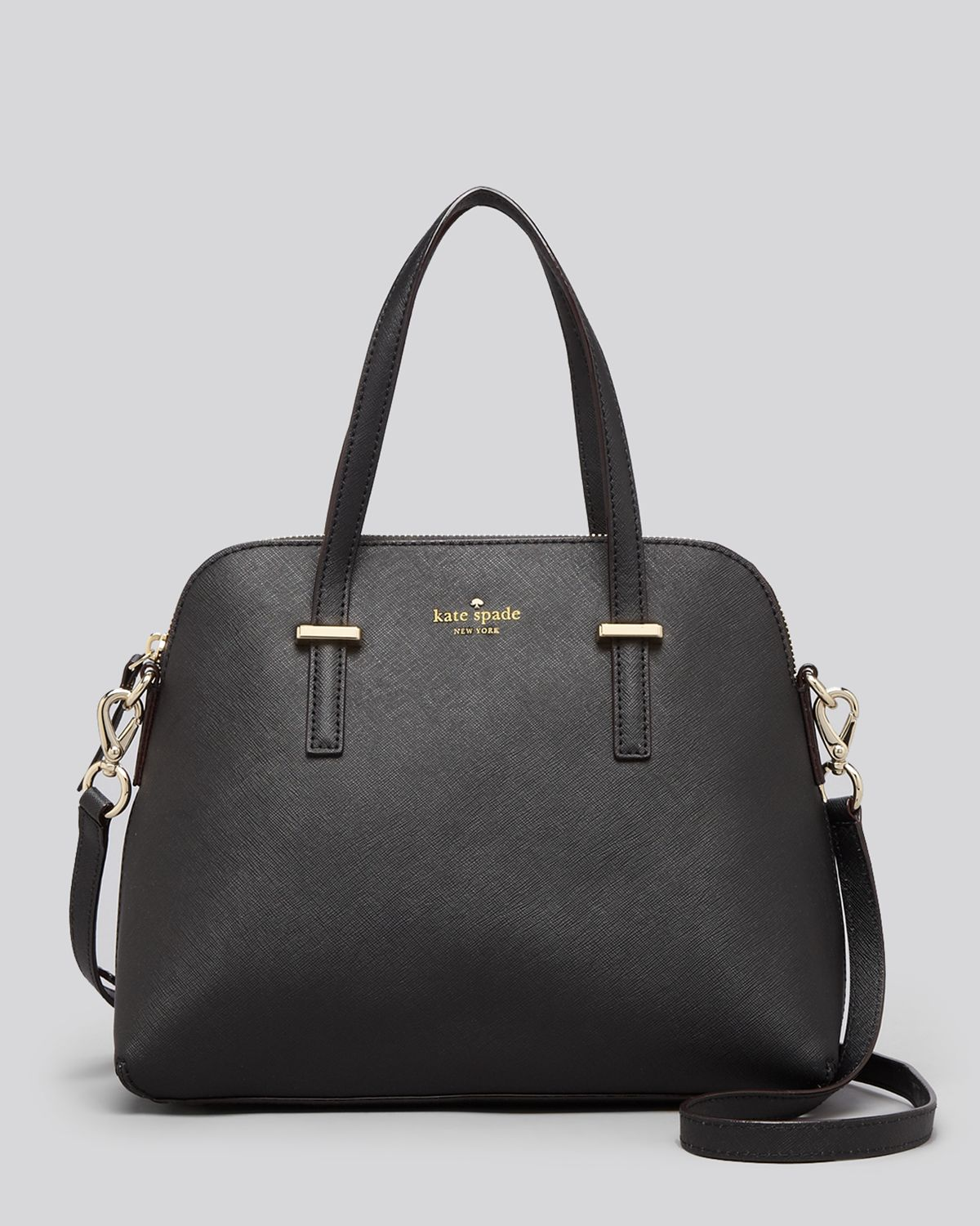 Kate spade new york Cedar Street Maise Satchel in Black | Lyst