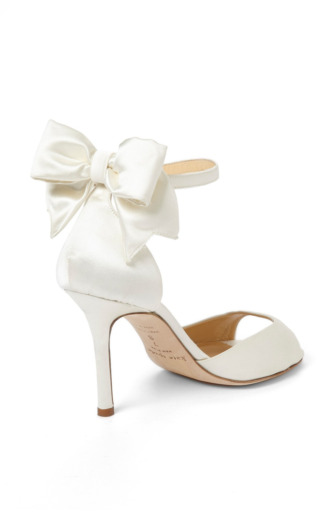 79a328f4c5 Summer Wedding Style with KATE SPADE White Izzie Sandal & ANN TAYLOR White  Jackie Bow Sandals