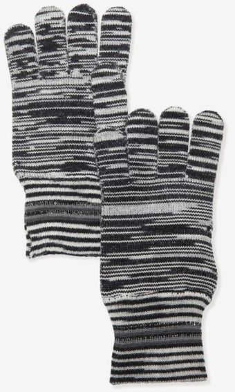 Missoni Stripe Knit Gloves - Lyst