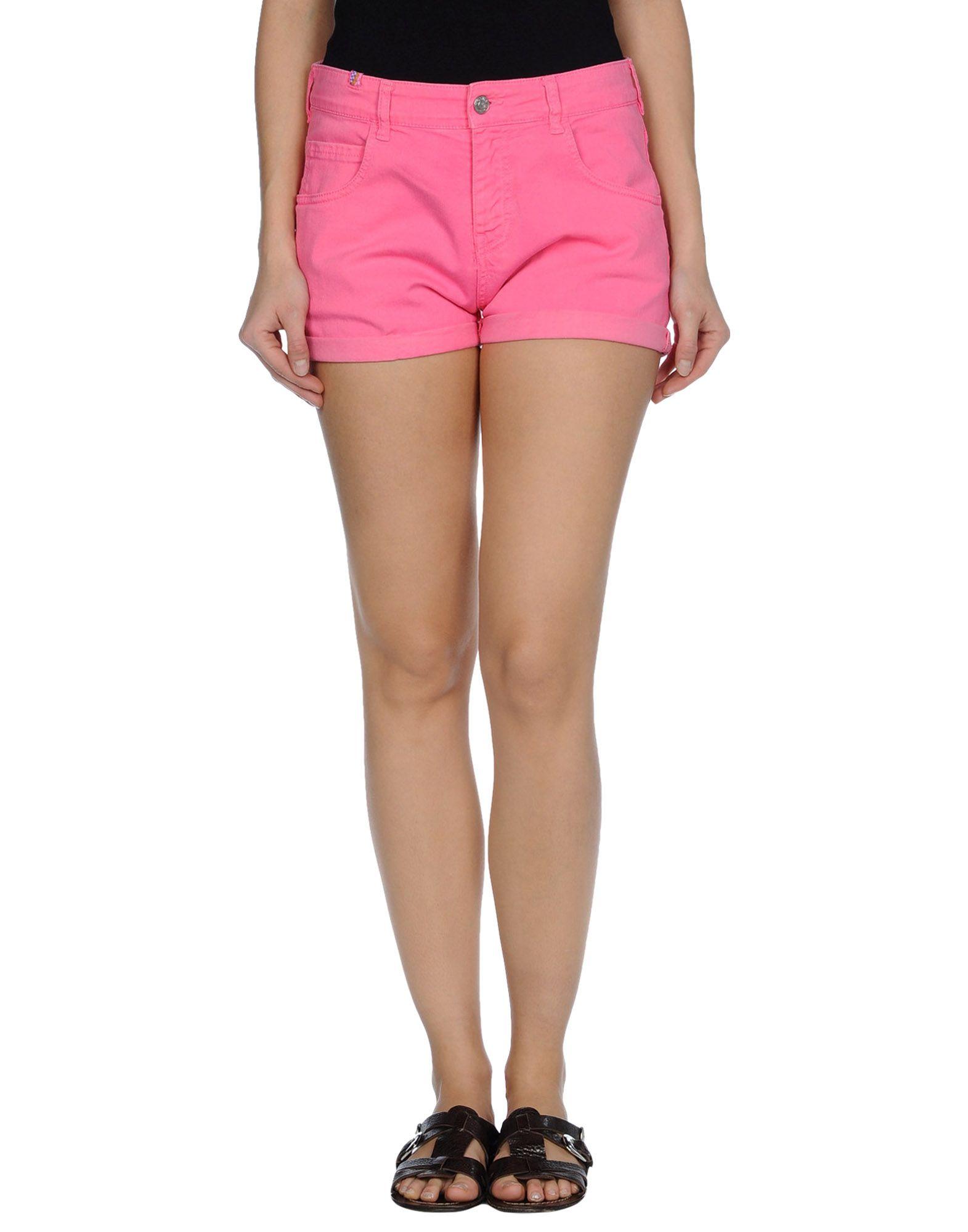 Notify Denim Shorts in Purple (light purple) | Lyst