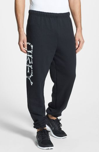 Obey Brigade Fleece Sweatpants - Lyst