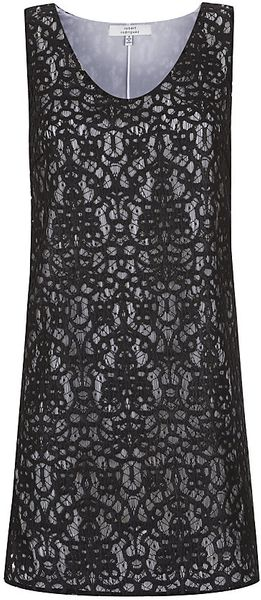 Robert Rodriguez Lace Tank Dress - Lyst