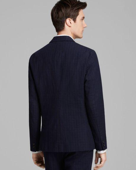 Mens Suit Jacket Blue Oliver Suit Jacket in Blue