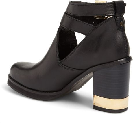 topshop all yours ankle boot in black lyst