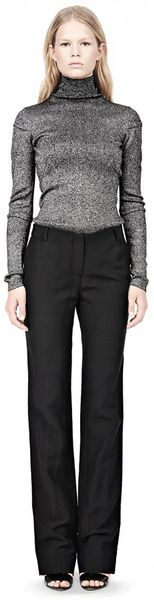 Alexander Wang Low Cut Straight Leg Trousers - Lyst