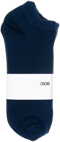Asos 5 Pack Trainer Socks - Lyst