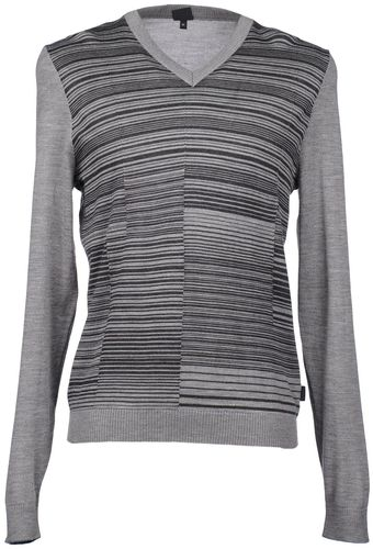 Boss Black V-neck Jumper - Lyst