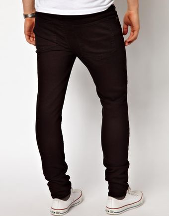 Cheap Monday Jeans Tight Skinny Fit in New Black - Lyst