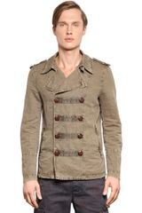 Corto Maltese Linen Cotton Canvas Colonial Jacket - Lyst