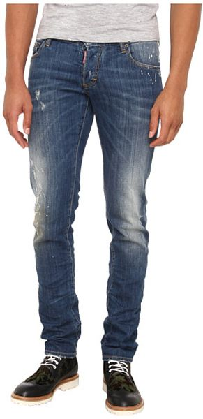 DSquared2 Stretch Denim Slim Jean - Lyst