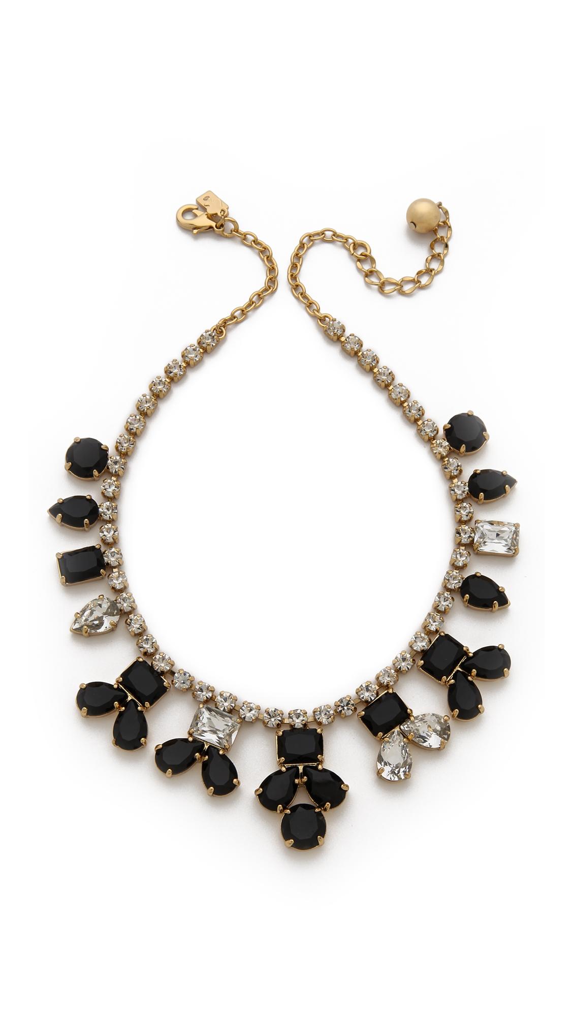 kate spade new york secret garden necklace jetclear in. Black Bedroom Furniture Sets. Home Design Ideas