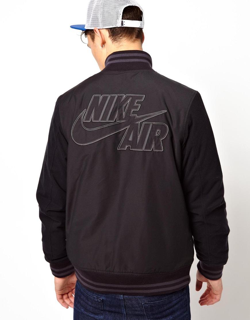 6a3b7c2f0955 Lyst - Nike Jacket Heritage Air Destroyer in Black for Men
