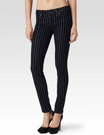 Paige Verdugo Flocked Stripe - Lyst