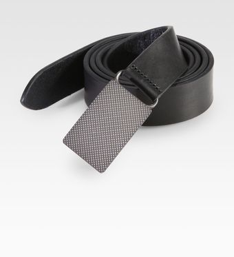 Ralph Lauren Vachetta Leather Belt - Lyst