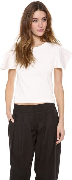 See By Chloé Short Sleeve Tee - Lyst