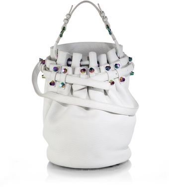 Alexander Wang Iridescent Diego Bucket Bag - Lyst