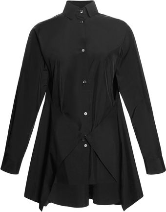 Alexander Wang Welded Dress Shirt with Panels Joined At Front - Lyst