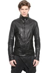 Alexandre Plokhov Soft Leather Bomber Jacket - Lyst