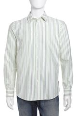 Ben Sherman Mod Striped Buttondown Shirt Jelly Bean - Lyst