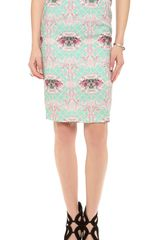 Blaque Label Printed Skirt - Lyst