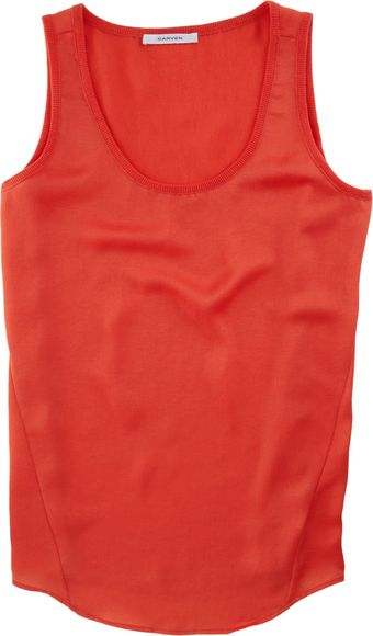 Carven Scoop Tank - Lyst