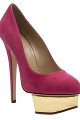 Charlotte Olympia Sweet Dolly Pump - Lyst