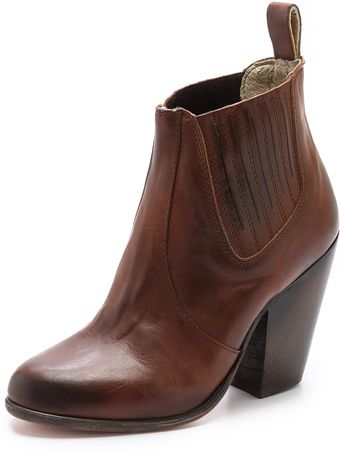 Freebird By Steven Morgan Chelsea Booties - Lyst