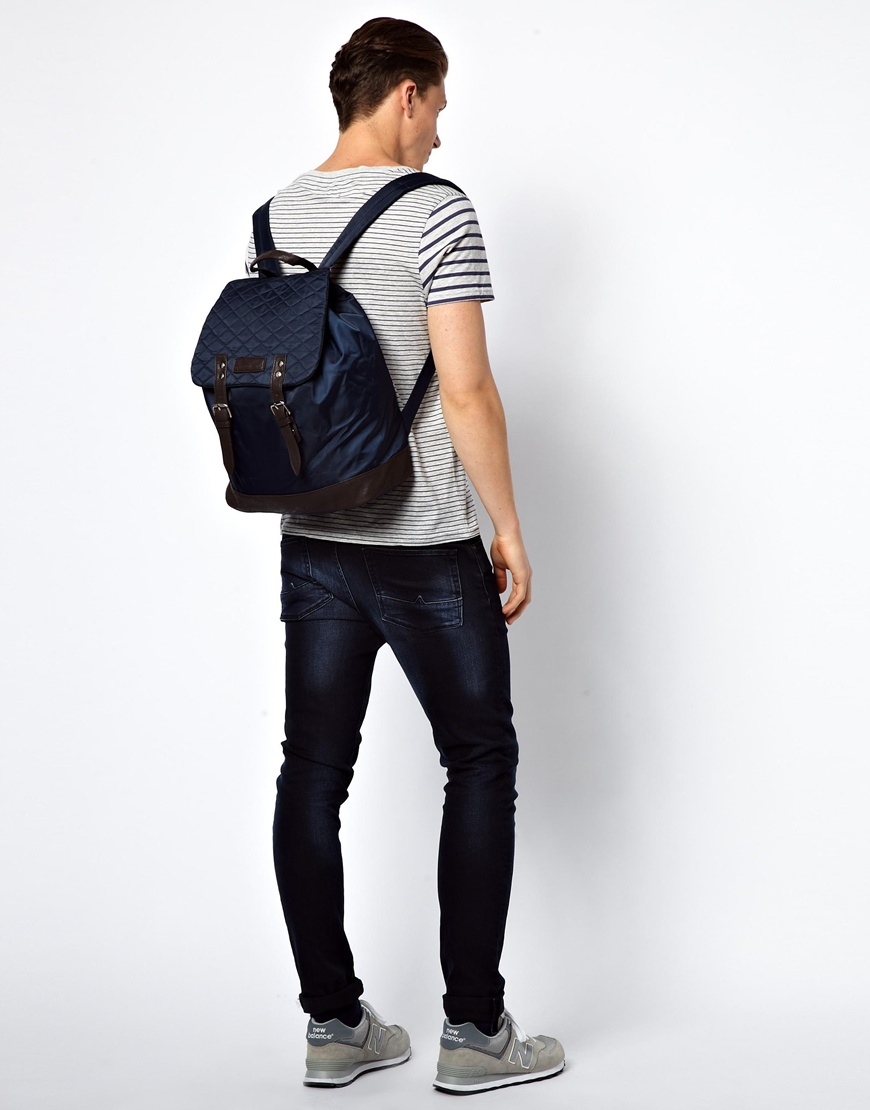 df91baa62e6 French Connection Backpack in Blue for Men - Lyst