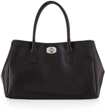 Furla Large New Appaloosa Tote Bag Onyx - Lyst