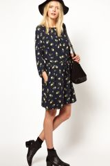 Girl. By Band Of Outsiders Girlby Band Of Outsiders Floral Dress with Tie Waist - Lyst