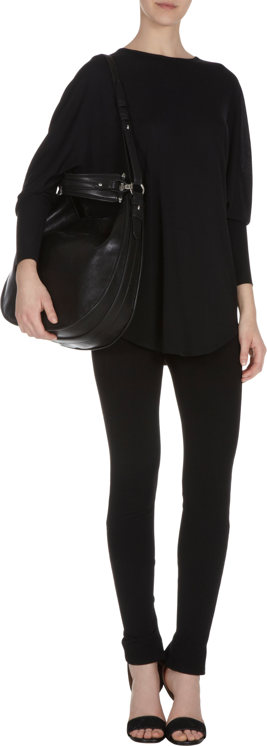 Givenchy Medium Zanzi Obsedia Hobo Bag in Black - Lyst 8777680b1e