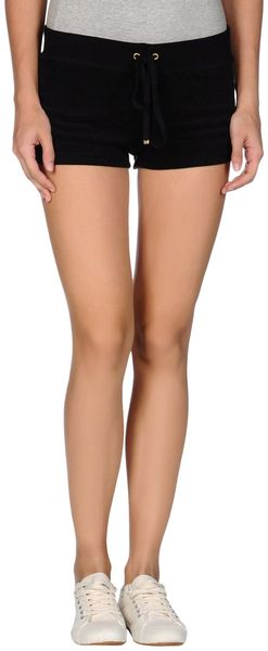 Juicy Couture Sweat Shorts - Lyst