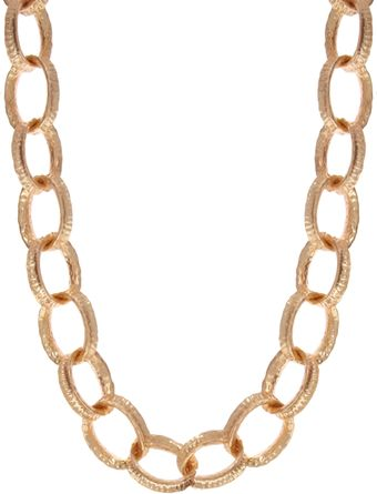 Kenneth Jay Lane Chunky Chain Link Necklace - Lyst