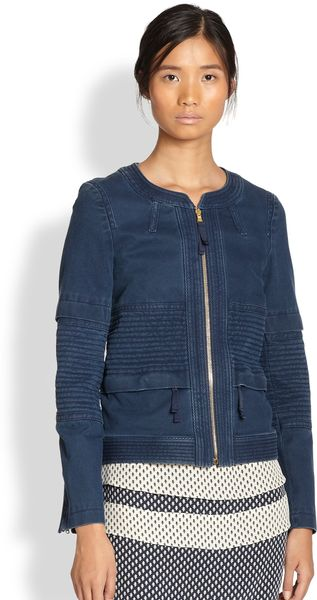 Marc By Marc Jacobs Tashi Twill Jacket - Lyst
