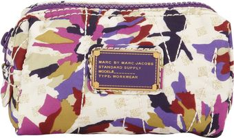 Marc By Marc Jacobs Sherwoodprint Pretty Nylon Cosmetic Case Small - Lyst