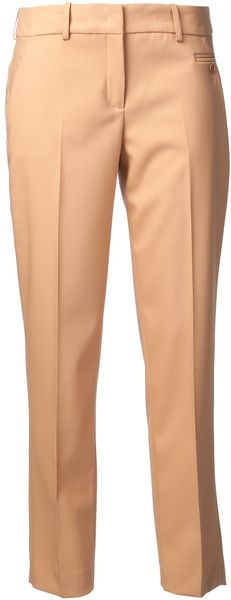 Michael Kors Samantha Novelty Skinny Trousers - Lyst