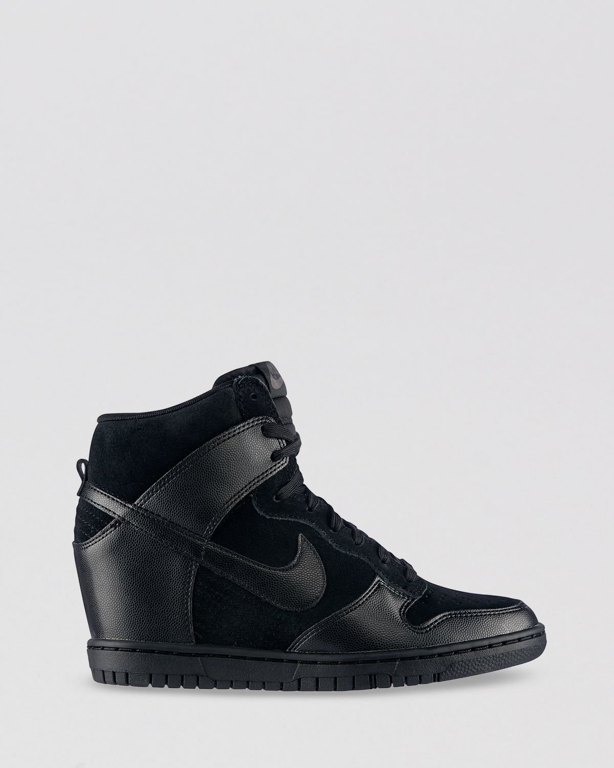 Nike High Top Lace Up Sneakers Womens Dunk Sky Hi in Black ...