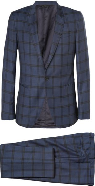 Paul Smith Kensington Check Wool Suit - Lyst