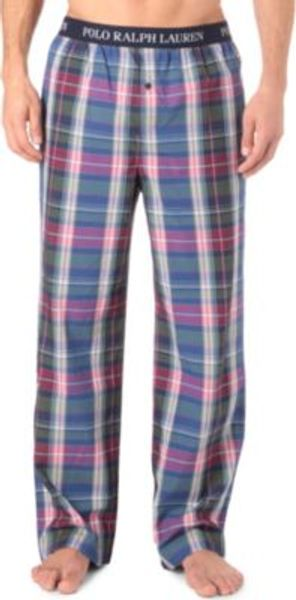 Ralph Lauren Patterned Pyjama Bottoms - Lyst