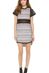 Sea Lace Cut-out Dress - Lyst