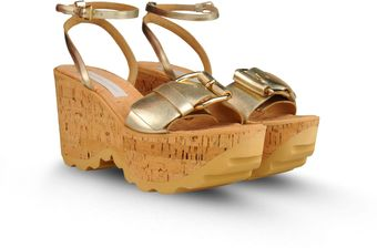 Stella McCartney Wedges - Lyst