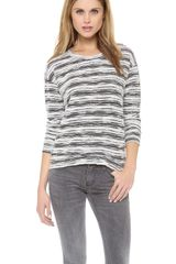Velvet Sharrona Knit Beach Sweater - Lyst