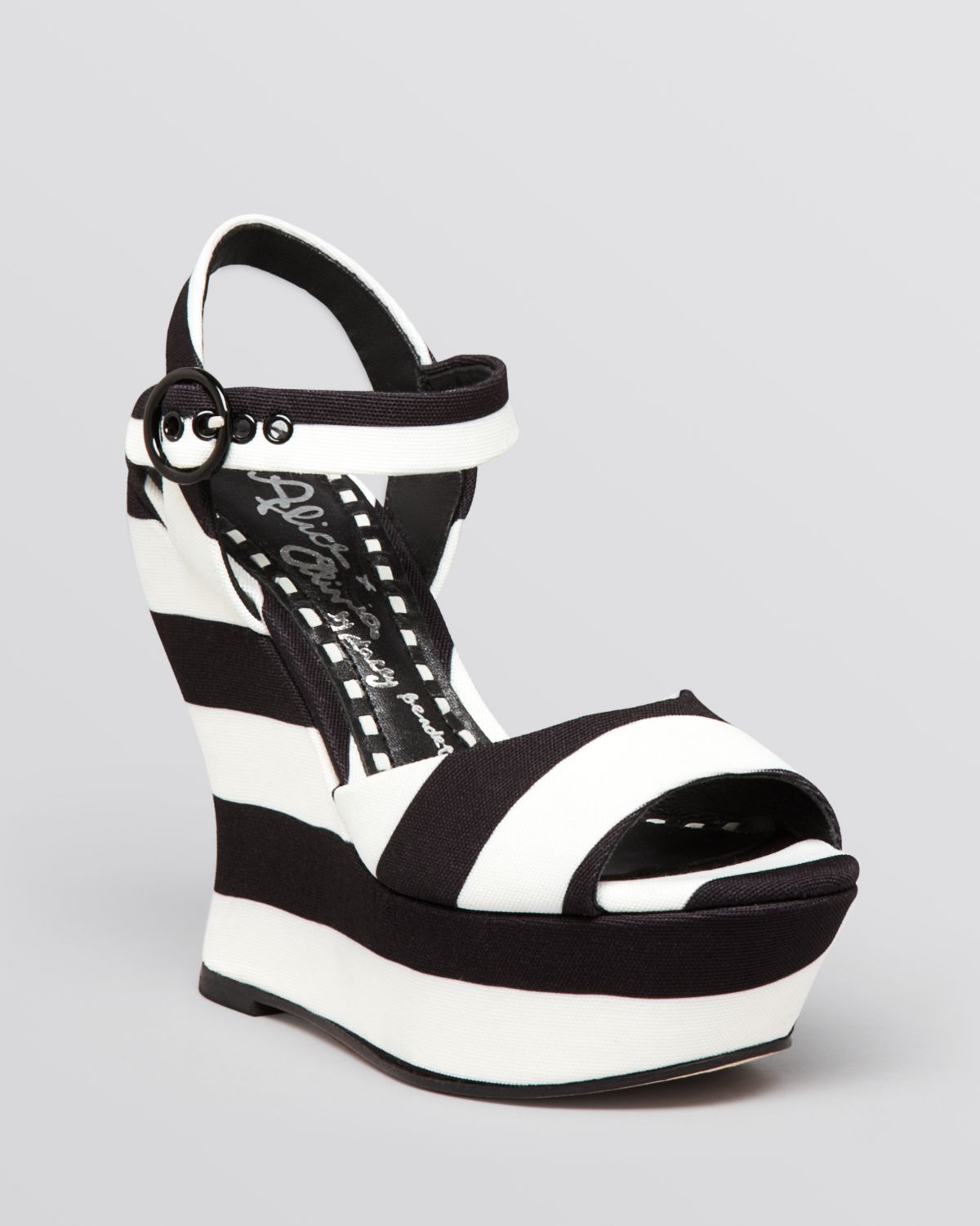 bb4bab296b2e Gallery. Previously sold at  Bloomingdale s · Women s White Platform Wedges  ...