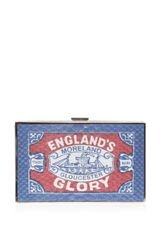 Anya Hindmarch Imperial Englands Glory Matchbox Clutch - Lyst