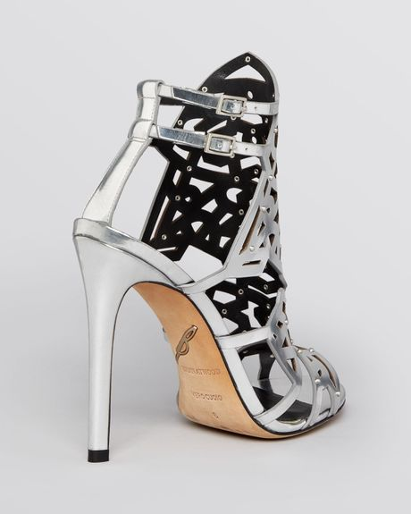 B Brian Atwood Evening Sandals Laconica High Heel In