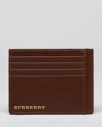 Burberry London Bernie Card Case - Lyst
