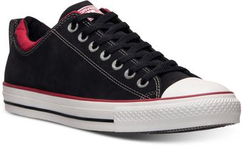 Converse Mens Chuck Taylor Dual Collar Low Casual Sneakers From Finish Line - Lyst