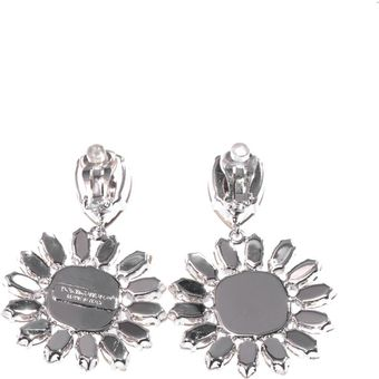 Dolce & Gabbana Swarovski Crystal Earrings - Lyst